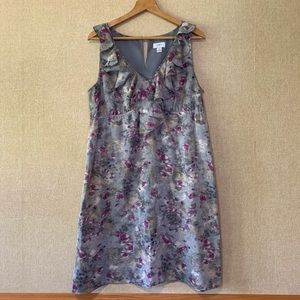 Ann Taylor LOFT Sleeveless Floral Dress